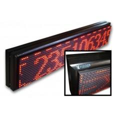 Κυλιώμενη επιγραφή LED διπλής όψεως 100x20 cm